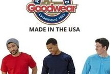 Goodwear Men's Casual Clothing Made in USA / At Goodwear our clothing is made from 100% American grown cotton. Our t-shirts, sweatshirts, sweatpants and more are made to last. We make clothing that is comfortable and long lasting.  #Clothing #MensClothing #MadeinUSA #BuyAmerican