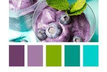 Colour Palettes / Pretty colour combinations, colour inspiration and colour palettes.