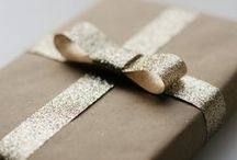 Gift Wrapping / Pretty gift wrapping ideas, projects and crafts.