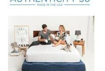 Authenticity 50 Bedding Made in USA / Shop Authenticity 50 for luxury bedding 100% Made in the USA with California grown Supima® Cotton for an amazing nights sleep. We are committed to creating jobs and supporting American manufacturing from seed-to-stitch.