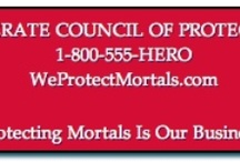 Venerate Council of Protectors (WeProtectMortals.com) / Board for the Protector superhero series by Julie Kenner -- and all things superhero-ish that catch my eye!