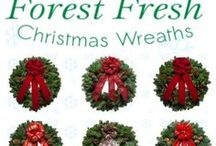 Christmas Forest Wreaths Made in USA / Christmas Wreaths - Gorgeous Christmas Wreaths from Christmas Forest Wreaths http://www.christmasforest.com/