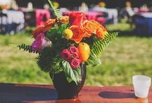 Spring + summer floral arrangements
