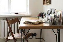 { studio space } / interiors; spacing and storage ideas for my studio