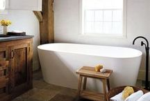 { bathroom } / next home project - inspiration for a modern but classic bathroom space