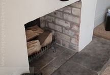 { fireplace } / ideas for making the fireplace the hub of the home