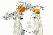 { lovely illustrations } / a collection of lovely illustrations