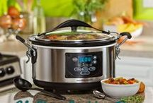 Food & Drink: Slow Cooking / Taking time and using a slow cooker/ crock pot to make a meal...