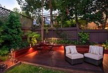 Home Decor: Front & Back Yard / by Liz Crawford