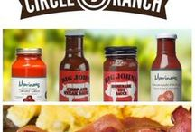 Circle B Ranch Naturally Raised Pork Products / Located in Seymour, Mo, we produce 100% Heritage Berkshire/Kurabota Pork. Our free-range animals produce only the best pork for Italian style meatballs, peppered bacon, pork chops, roast, spare-ribs, whole ham and more! http://www.circlebranchpork.com/ #bacon #pork #meatballs #madeinusa www.circlebranchpork.com