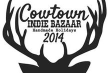 Cowtown Indie Bazaar / The #1 Hanmade Holiday Shopping Destination in Fort Worth  A sneak peak at the vendors who will be represented at the Cowtown Indie Bazaar