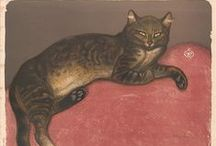 Cats in Art / The cat serves as an important symbol throughout history and art. We celebrate the elegant & regal feline as it is depicted in the collection of the Metropolitan Museum of Art, New York