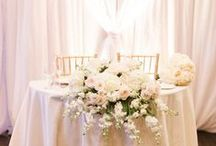 Sweetheart tables.