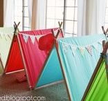 Camping Party - Kid's Birthday Parties / Camping Party ideas, decorations, printables, party favors, diy crafts, food and inspiration.