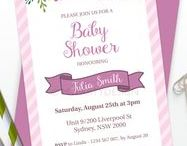 Baby Shower - Floral Theme / Floral Baby Shower party ideas, printables, decorations party favors, food and inspiration.