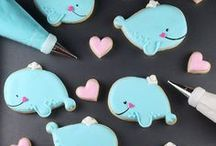 Baby Shower - Whale Theme / Whale Baby Shower party ideas, printables, decorations party favors, food and inspiration.