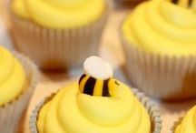 Baby Shower - Bee Theme / Bee Baby Shower party ideas, printables, decorations party favors, food and inspiration.