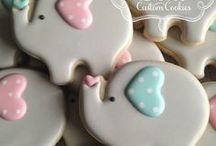 Baby Shower - Elephant Theme / Elephant Baby Shower party ideas, printables, decorations party favors, food and inspiration.