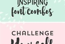 Font Faves / {and very nice vector images too}