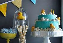 Baby Shower - Rubber Duck / Rubber Duck Baby Shower party ideas, printables, decorations party favors, food and inspiration.