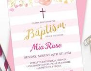 Baptism / Christening Parties / Baptism, Christening, First Communion party ideas, printables, decorations party favors, food and inspiration.