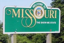 Missouri / The Show Me State.....oh how is showed me many things. I met wonderful people, saw beautiful places and had a blast.  I lived in Sikeston & Kimberling City.  The best people on earth lived there.  Friends for life.  I loved living in the bootheel of Missouri and I loved living on Table Rock Lake.  I use to deliver flowers around the lake and it was sooo relaxing and peaceful.  I want to go back some day and have a place on the lake.   / by BIZZYBUNCH