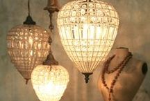Lights / Lighting:  Lamps and all kinds of lighting fixtures / by BIZZYBUNCH