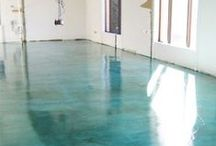 Floors / Why not paint or change your flooring to make your house more interest! / by BIZZYBUNCH