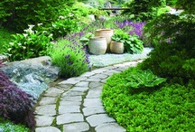 garden walkways and stonework / by Bonnie Keaveny