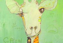 A Giraffe in My Eye