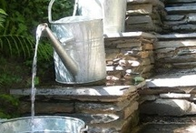 garden fountains and water features / by Bonnie Keaveny