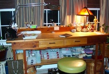 craft room/studio / Organization...simplicity...creativity / by Bonnie Keaveny