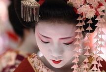 Geisha & More / Japanese art in the form of Geisha, Maiko, kimonos and more.