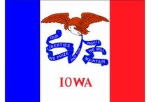 Iowa--The Hawkeye State / by Kay Sawyer Dean