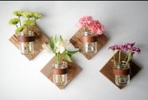 · Mason Jars / Botes de cristal · / Una recopilación de usos que le podemos dar a los botes de cristal que tenemos por casa o a las preciosas Mason Jars