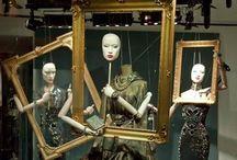 Mannequin Mania / mannequins, window design, flowers