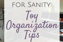 Organization Tips / Get organized with these tips to get rid of the clutter, get your finances in order, and make the best use of small spaces.