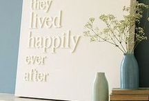 House + Make it a Home / These PRINTABLES, DIY and CRAFT ideas, paint inspiration, beautiful HOME DECOR, DECORATING ideas and ART may just inspire you to make your house a home, one room at a time.