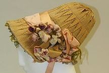 Mid 19th Century Bonnets / bonnets, historical / by Rondi Anderson