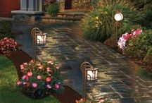 Outdoor Spaces / Patios, Flowers, Gardening, Outdoor Furniture, Designs and Ideas For The Yard / by Caron Walker