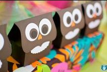 Celebrate + Hoot! Hoot! / Whoo loves a good OWL PARTY? You'll find owl-inspired FOOD ideas and a DESSERT table, ACTIVITIES, PRINTABLES, functional party FAVORS and plenty of DECORATION ideas.