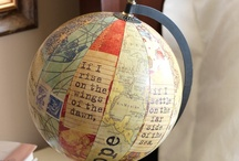 Maps..and globes / by Susan Bartlett
