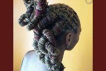 Luvlocs Styles   / Natural hair styles with creative expression.