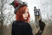 Steampunk Ladies-Weapons Ready / by David M. Merchant