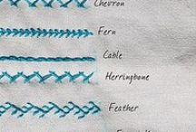 Cross stitch patterns / Stitchery patterns.
