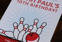 Celebrate + It's a Strike! / It's a STRIKE! These ideas for a BOWLING party will have you rolling with ideas, from INVITATIONS and PARTY PRINTABLES to FOOD, VENUES, FAVORS, ways to PERSONALIZE the details and make it your own.