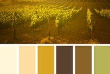 (Design) Color Schemes / by ☮☾☼✧Amanda Kraenzle