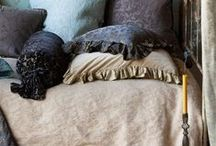Neutral Bedding Ensembles / Anything that goes on a bed including the bed itself. / by Caron Walker