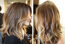 Hair ideas... Forever changing my hair...