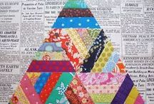 String Quilts / DIY String quilts and pattern ideas